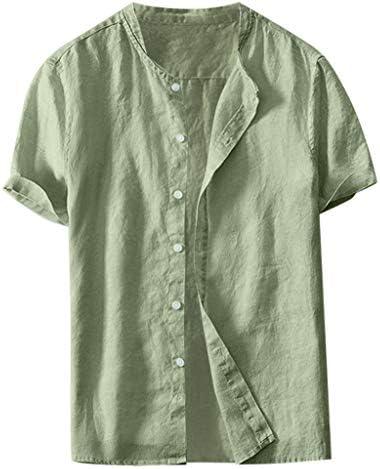 Overdose Camisas Hombre Lino Camisetas para Hombres ...