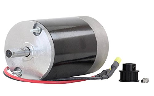 Poly Spinner (NEW 12 Volt Electric Spinner Motor For Western Tornado 10T Cogged Pulley)