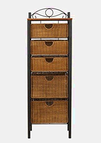 Amazoncom Sts Supplies Ltd Tall Narrow Dresser Organizer Wood