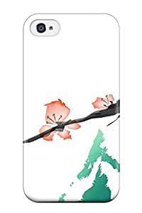 Durable Oriental Artistic Abstract Artistic Back Case/cover For Iphone 4/4s