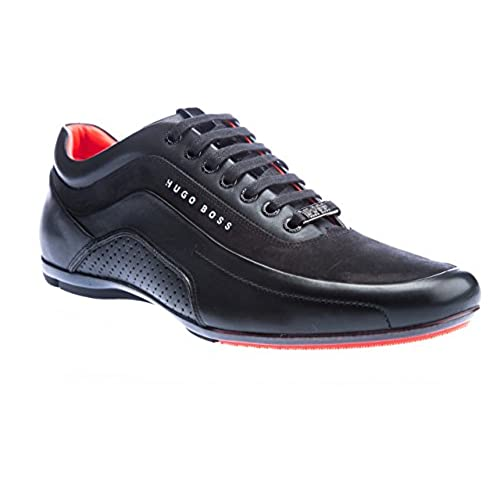 ead22a96031 new Hugo Boss Men s Hugo Boss Men s Black HB Racing Trainers - sccog.com
