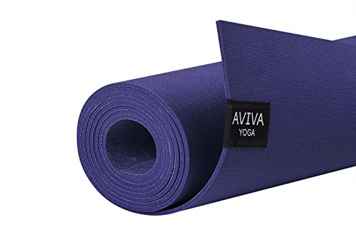 Yomad Pro 3mm Natural Non-Amazon Harvested Rubber Travel Yoga Mat by AVIVA YOGA – Eco-Friendly, Grippy, Reversible, and Durable Material Measuring 72″ Long x 26″ Wide (Dark Blue, 72″x26″) Review