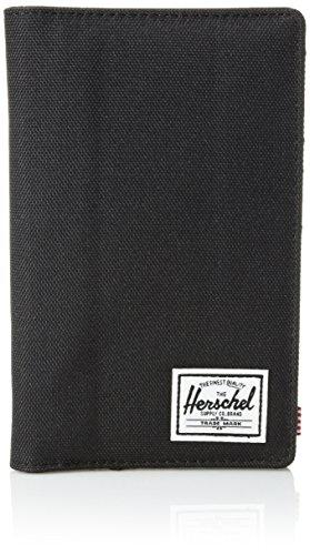41ixkUuR4xL - Herschel Search RFID Passport Holder, black