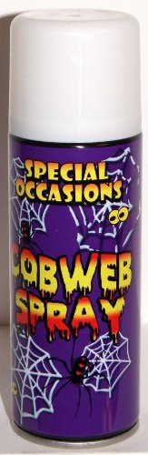 special occasions cobweb spray 200ml 70g cobweb cob web spray halloween spider decorative room decoration party
