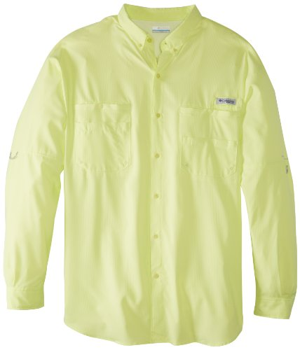 Columbia Men's PFG Tamiami II Long Sleeve Shirt, UPF 40 Sun Protection, Moisture Wicking Fabric