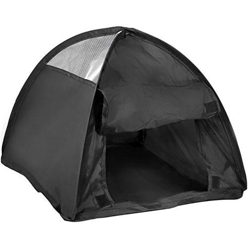 com-four® Pop-Up Zelt für Haustiere, Zelt für Katzen und kleine Hunde, ca. 36 x 36 x 32 cm (01 Stück)
