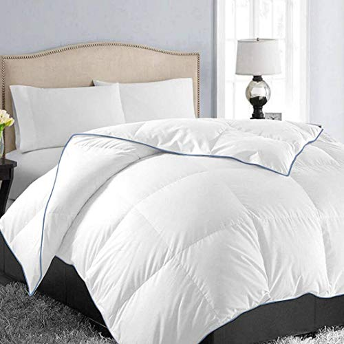 Mixbeauty All Season Comforter King, Down Alternative Comforter King, Reversible Duvet Insert with Corner Tabs, Winter Warm Fluffy Hypoallergenic Quilted Comforter (90 x 102 inches)