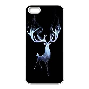 Protect deer Design Pattern Hard Skin Back Case Cover Potector for For Iphone Case 5,5S color8