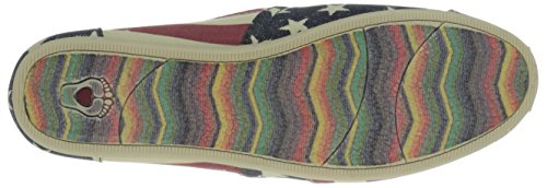 Skechers Multi Plush Lil Women's Red Flat Americana BOBS from pwqx8rp