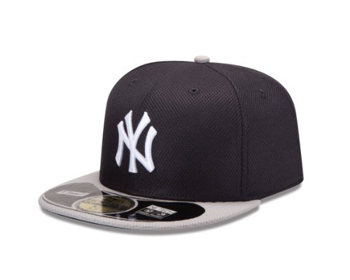MLB New York Yankees Jr Road Diamond Era 59Fifty Baseball - Batting Performance Cap Practice