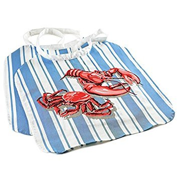 Norpro Cotton Seafood Lobster Bib, Set of 2 ()