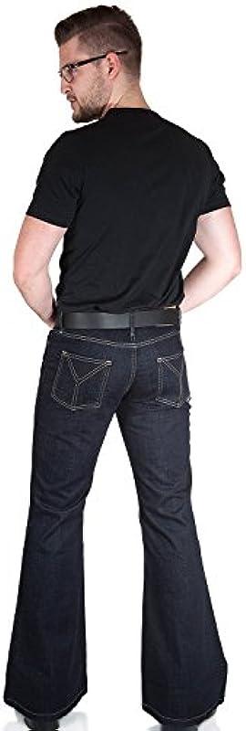 Comycom męskie dżinsy spodnie do biegania Star ciemny granatowy: Odzież