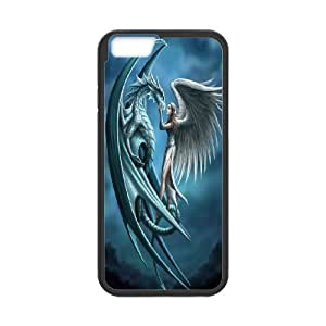 JamesBagg Phone case dragon at sky pattern For Apple Iphone 6 Plus 5.5 inch screen Cases FHYY445183