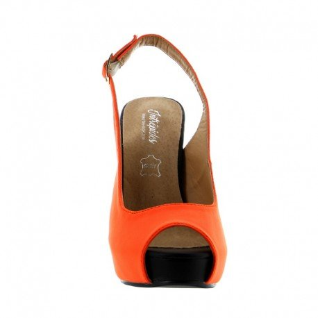 Intrepides Shoes - Mini Lola Orange - 40
