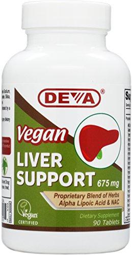 Deva Nutrition Vegan Liver Support Tablets, 90 Count Review