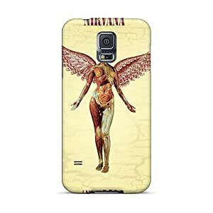 VIVIENRowland Samsung Galaxy S5 Anti-Scratch Hard Phone Cover Support Personal Customs High Resolution Nirvana Image [jZN7198thpr]