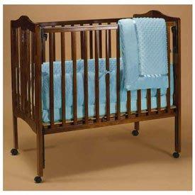 Blue Heavenly Soft Portable Crib Bedding by Baby Doll   B002B8YANM