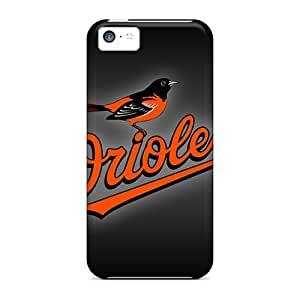 5c Scratch-proof Protection Case Cover For Iphone/ Hot Baltimore Orioles Phone Case