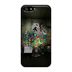 Durable Protector Case Cover With Abstract Graffiti Hot Design Case For Ipod Touch 4 Cover