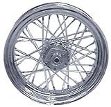 Ultima Complete 40 Spoke Chrome 16'' X 3'' Rear Wheel For Harley-Davidson