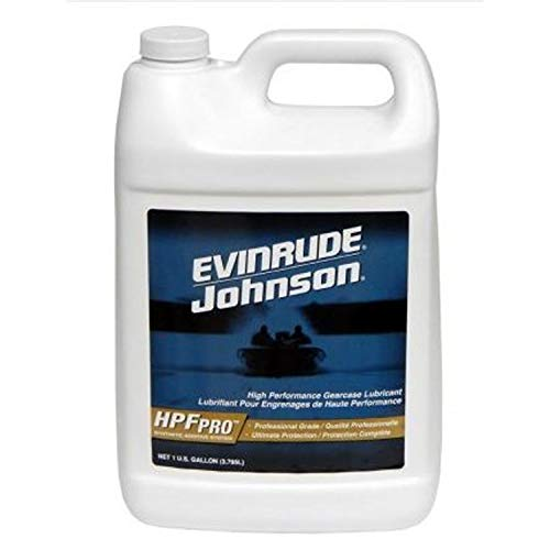 Johnson/Evinrude/OMC New OEM HPF PRO GALLON Gearcase Gear Lube 0778756, ()