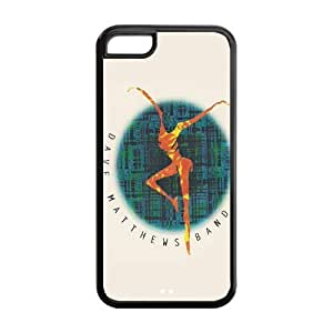 Painted dave matthews TPU Hard back phone Case cover Iphone 5c