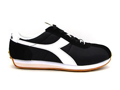 Nyl Sirio Diadora c0641 46 173712 Nero Nero Sneakers Bianco Hg4S4Ozn