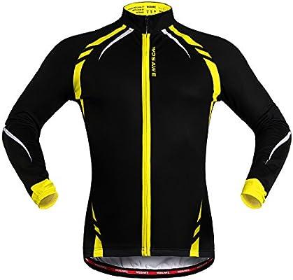 Wolfbike - Camiseta de ciclismo de manga larga para ciclismo ...
