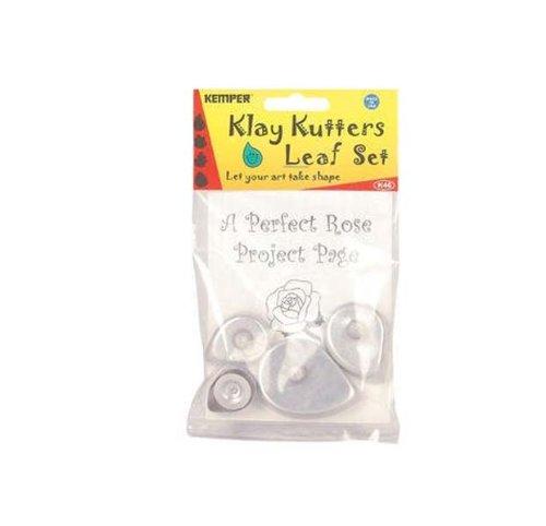 Kemper Leaf Cutter Set set of 4 (Kemper Double Ball Stylus)