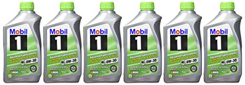 Mobil 1 0W-30 (Advanced Fuel Economy) Synthetic Motor Oil - 1 Quart (Pack of 6) (Best 0w 30 Synthetic Oil)