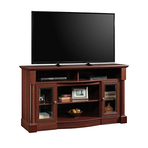 (Sauder 419117 Palladia Entertainment/Fireplace Credenza, For TV's up to 60