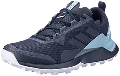 adidas Australia Women's Terrex CMTK GTX Trail Running Shoes, Carbon/Core Black/Ash Green, 5 US