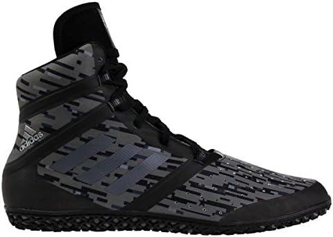 adidas Men's Impact Wrestling Shoes Black Size: 4: Amazon