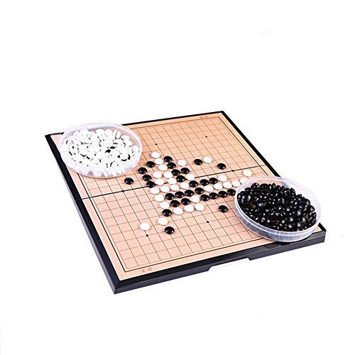 WESDOO Juego De Ajedrez De Madera Ajedrez para Ni?Os Juego de ajedrez para niños Ajedrez Regalos Niños Juego de ajedrez…