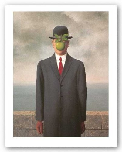 Son of Man by Rene Magritte Art Print Poster