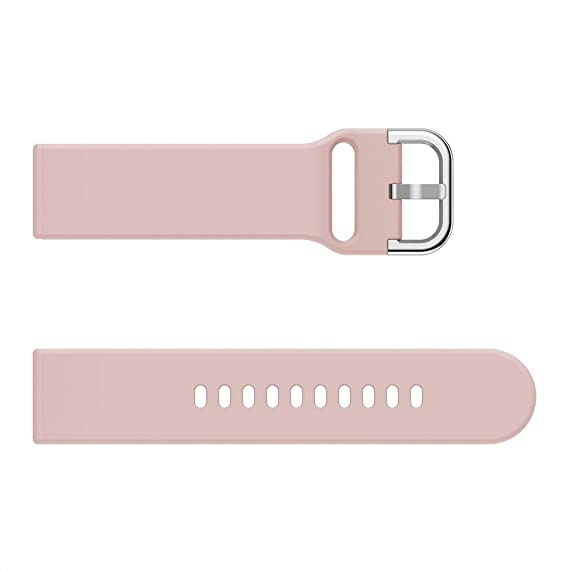 Rosa Saisiyiky Correa Pulsera Compatible con AMAZFIT Bip Xiaomi Huami Banda de Silicona//Ajustable para Smartwatch Reemplazo de Correa