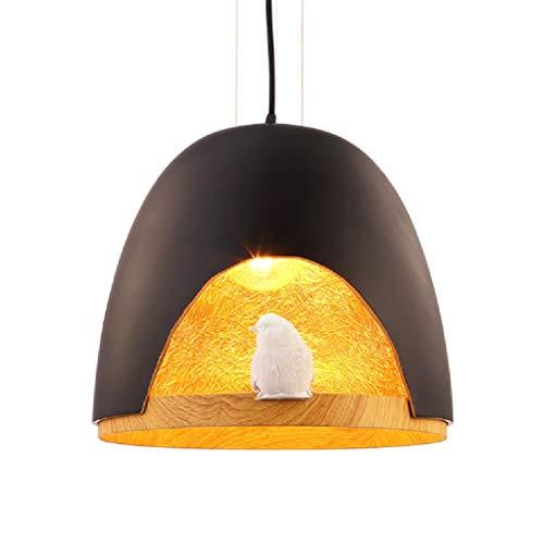 Amazon.com: Chandelier Bird Resin Chandelier Black and White Ceiling Lamp,White: Home & Kitchen