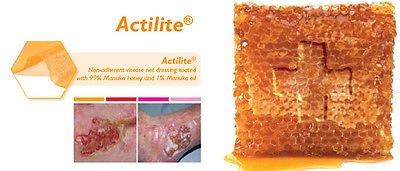 Actilite Manuka Honey Non-Adherent Dressing 10cm x 20cm x 10 CR3852