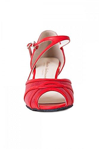 Chaussures toe Bev peep de Ballroom Electric Rouge danse 5wpSTAq
