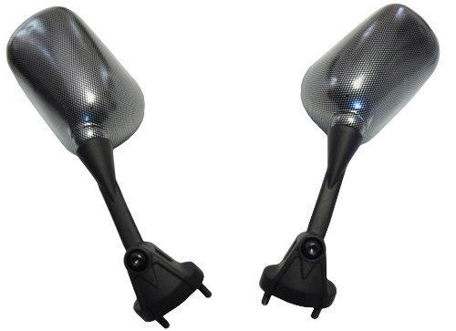 (Kawasaki Carbon Mirrors Zx 6R Zx6R Zx6Rr Zx 6Rr 2005 2006 2007 2008 Ninja)