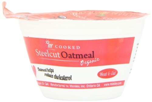 ic Steelcut Oatmeal, 5-Ounce Cup (Pack of 12) ()