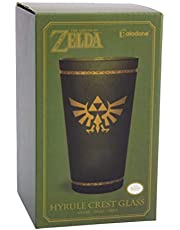 Paladone PP6356NN Hyrule Crest Glass, The Legend of Zelda Tumbler 450 ml