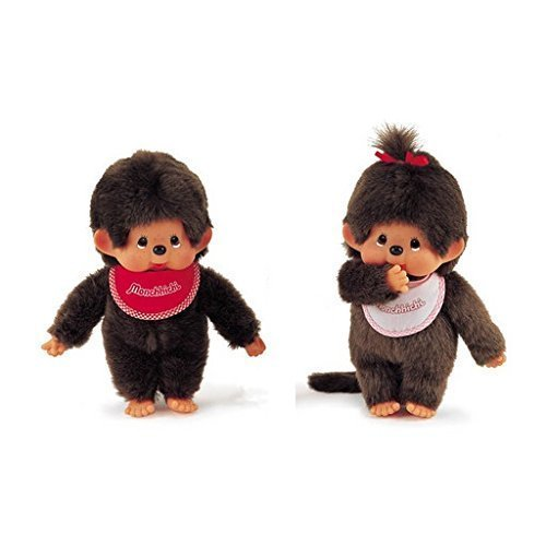 Sekiguchi Basic 10 inches Monchhichi Boy & Girl