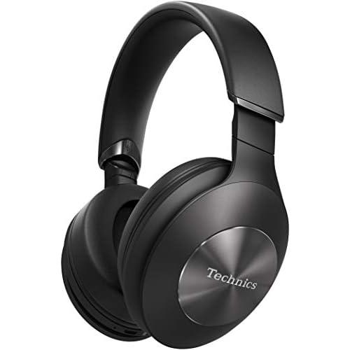 chollos oferta descuentos barato Technics EAH F70N Auriculares inalámbricos Bluetooth cancelación de ruido 3 modos 40mm CPF Hi Res Audio LDAC asistente de voz batería 20h plegable Talla Única Negro