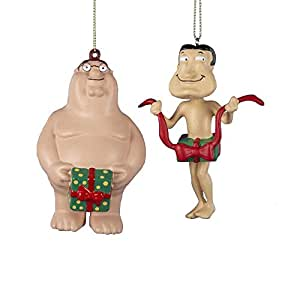 Amazon.com: Family Guy Naked Peter and Quagmire with Gift