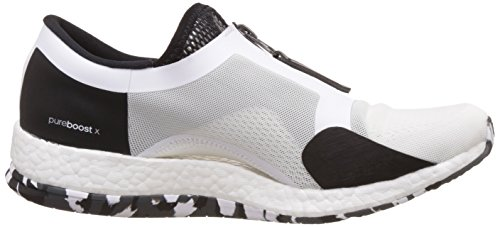 Adidas Pureboost X Tr Zip, Chaussures de Course Femme, Blanc Cassé (Ftwbla/Negbas/Grpudg), 36 EU