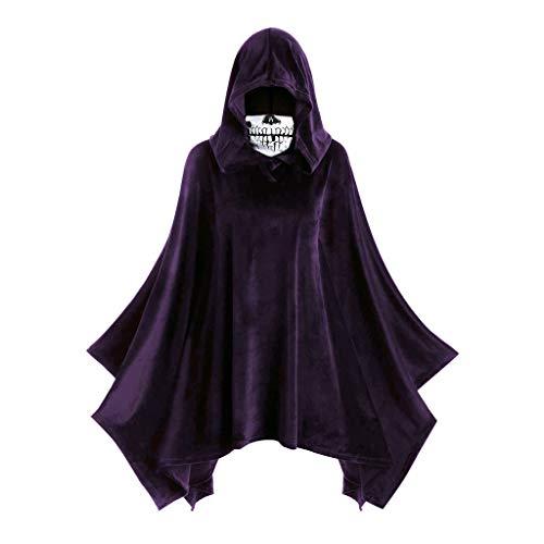 LIM&SHOP Halloween Cloak Hooded Black Halloween Costume