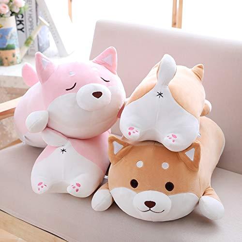 - HIGHUP Stuffed & Plush Animals - 36cm Cute Fat Shiba Inu Dog Plush Toy Stuffed Soft Kawaii Animal Cartoon Pillow Lovely Gift for Kids Baby Children 1 PCs