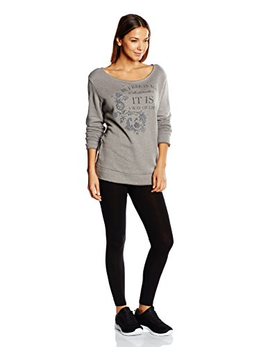 Dimensione Danza - Sweat-shirt - Femme Gris Gris Jaspeado Taille S