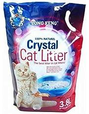 3.8L long feng crystal cat litter